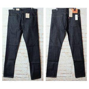 Levi's Skinny Fit Men's 34x34 Dark Blue Jeans NWT